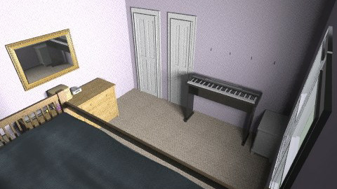 My room - Minimal - Bedroom - by NileJ_1997