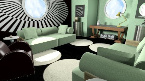 Deco rated - Retro - Living room  - by FRANKHAM