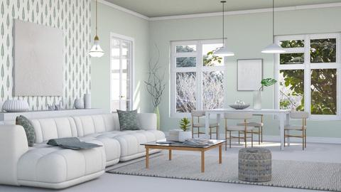 Minimalist living - Living room  - by milyca8