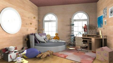 Jades Room - Eclectic - Bedroom  - by migasm