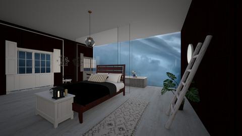 Stormy day bedroom  - Bedroom  - by noadesign