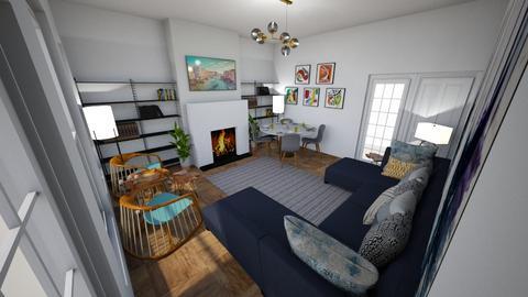 Inigo Jones Road - Living room  - by rachelbbridge