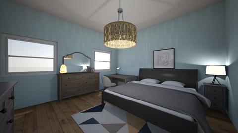 MY bedroommm - Minimal - Bedroom  - by Caitlinnn08