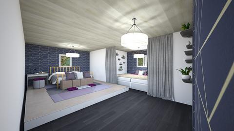 gefenkel Bedroom Remix - Feminine - Bedroom - by SwiftLyDesigns