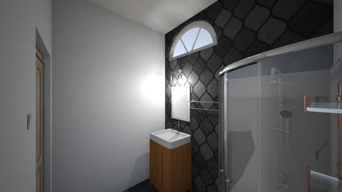 3b - Bathroom  - by Hya_potter