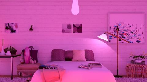 Bedroom pink - Classic - Bedroom  - by wijesinghe