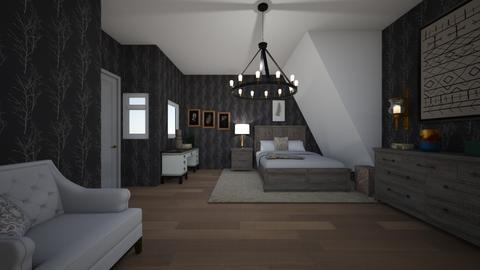 rustic leaves   - Rustic - Bedroom  - by awood23