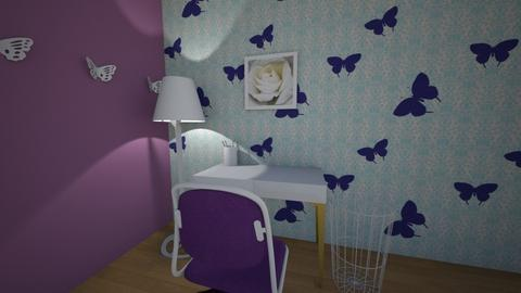 Butterfly - Office  - by hannahelise