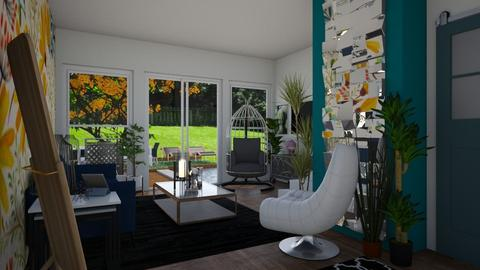 Garden template - Living room - by susiekohl032