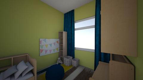 Zlatan room 1508 - Kids room  - by Julia Nick