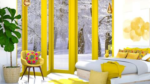 I love Yellow - Bedroom  - by MillieTZ