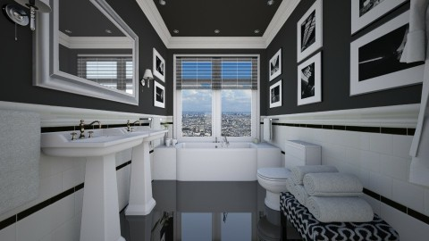 Bathroom revisited - Bathroom  - by _Taz_