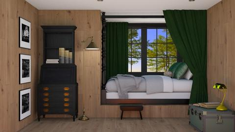 Bed nook - Bedroom  - by Laurika