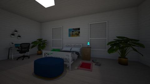 the modern bedroom - Modern - Bedroom  - by kitty_desiner