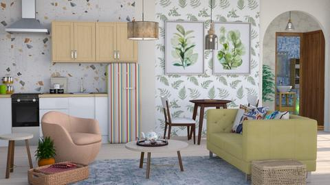 eldery living suite - Living room  - by Moonpearl