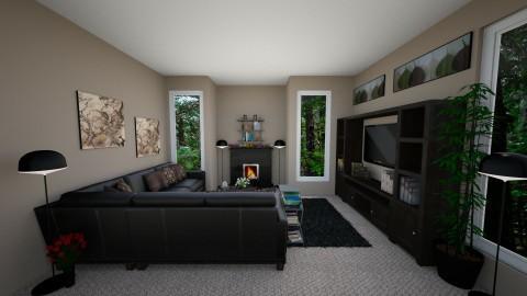 K living room - by Katiewaldo7