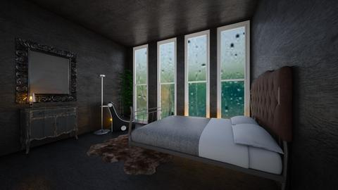 Storm room - Bedroom  - by bleeding star