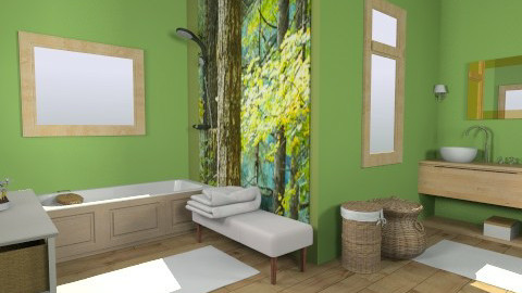 cotage bathroom - Country - Bathroom  - by dim