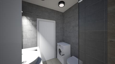 Lazienka 1d - Bathroom - by KatarzynaLaszczyk