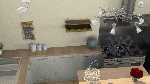 country cottage kitchen - Country - Kitchen  - by frenchy101
