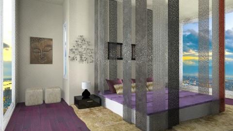 symmetry 2 - Minimal - Bedroom - by ilia_eva