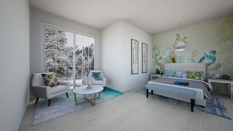 Bright - Bedroom  - by Feeny