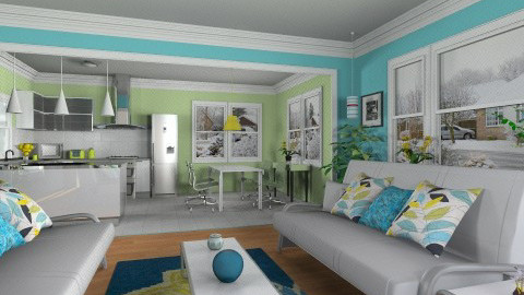 Living - Modern - Living room  - by Bibiche