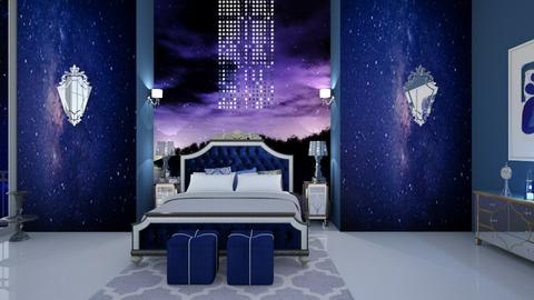 Night Time Glamour 4 - Glamour - Bedroom - by fashiondesigner7