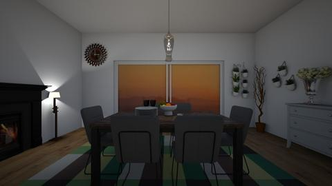 Food - Country - Dining room  - by Gouri Renjith