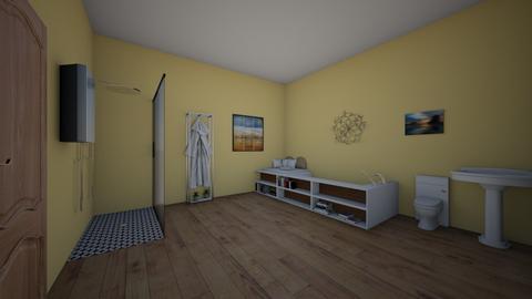 sunset bathroom  - Classic - Bathroom  - by aschaper