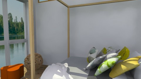 The View - Eclectic - Bedroom  - by idesine