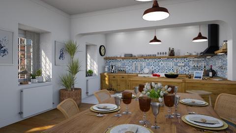 Alfama - Kitchen  - by Claudia Correia