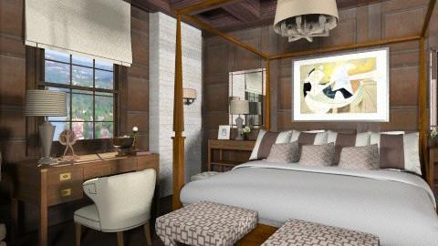 Chocolate Dreams - Bedroom  - by Baustin