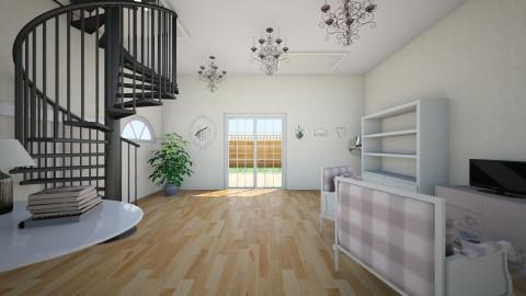 large room - by India Arwyn