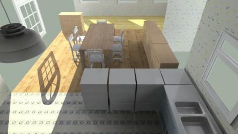 PAWON PAWON WATON KELAKON - Minimal - Kitchen  - by c4h_pl3r3t