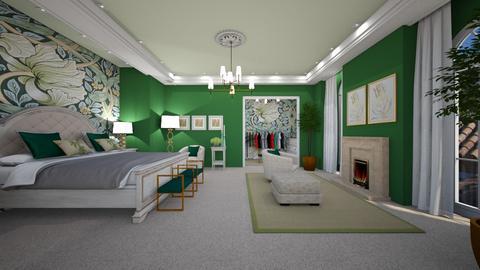 Art Nouveau - Bedroom  - by susilva