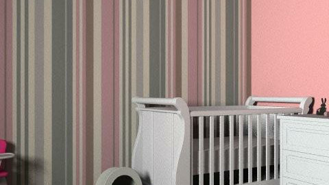 baby room  - Minimal - Kids room  - by clgchloe