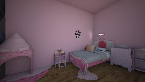 childrens princess room - Glamour - Kids room  - by alliiciia
