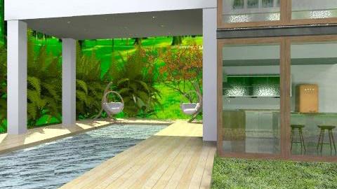 casa eco--- - Modern - Garden  - by ARMIDA 1