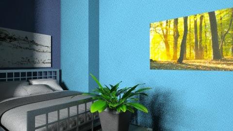 Vogel Street Bedroom - Retro - Bedroom  - by Paige101