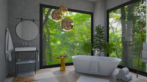 jungle bathroom 2 - Bathroom  - by madaline