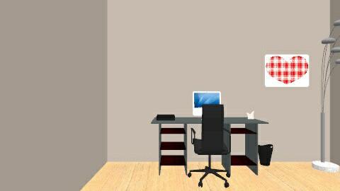home office - Modern - Office  - by Cydney Boyer