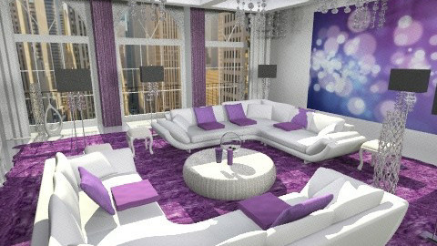New liv 1 - Glamour - Living room  - by bisertanya
