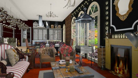 Steampunk Inspired - Eclectic - Living room  - by giulygi