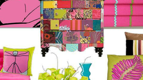 Carnival of Colour - Eclectic - Living room - by karma kitten