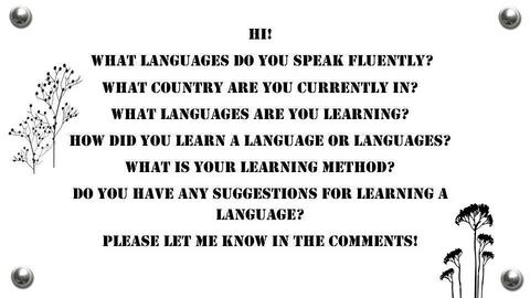 Languages - by house17