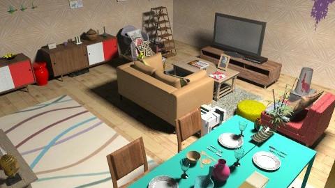 zaz - Vintage - Living room  - by zert123