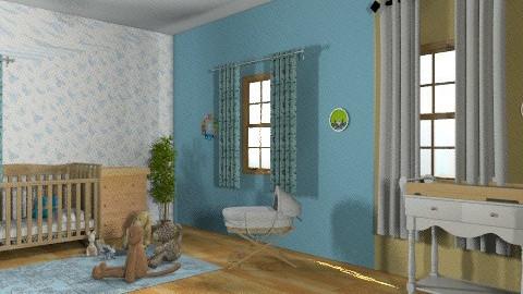 iker baba szoba - Modern - Kids room  - by eszti