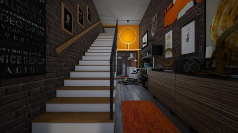 maximalist hallway - by allday08