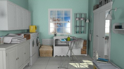 Laundry Room - Classic - Bathroom  - by Bibiche